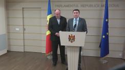 Declarația fracțiunii PSRM în timpul Ședinței Parlamentului Republicii Moldova din 16 decembrie 2016