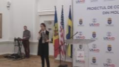 Conferința de presă cu ocazia semnării Acordului de Cooperare pentru implementarea Proiectului de Competitivitate din Moldova