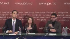 """Conferință de presă cu tema """"Poziția asupra inițiativei legislative privind amnistia fiscală și de capital"""""""