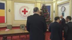 Evenimentul de semnare a protocolului de colaborare cu Departamentul pentru Situații de Urgență din cadrul Ministerului Afacerilor Interne