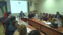 """Conferință de presă organizată de Ministerul Muncii, Protecției Sociale și Familiei cu tema """"Reforma sistemului de pensii pe înțelesul tuturor"""""""