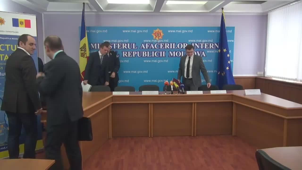 """Conferință de presă organizată de Ministerul Afacerilor Interne de prezentare a rezultatelor obținute privind Proiectul """"Infrastructura transfrontalieră"""""""