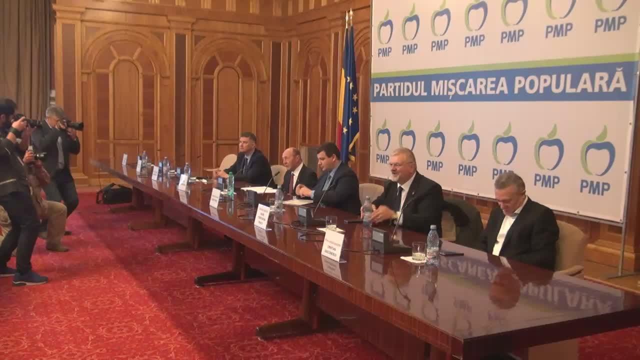 Declarații de presă după Ședința Colegiului Național al PMP