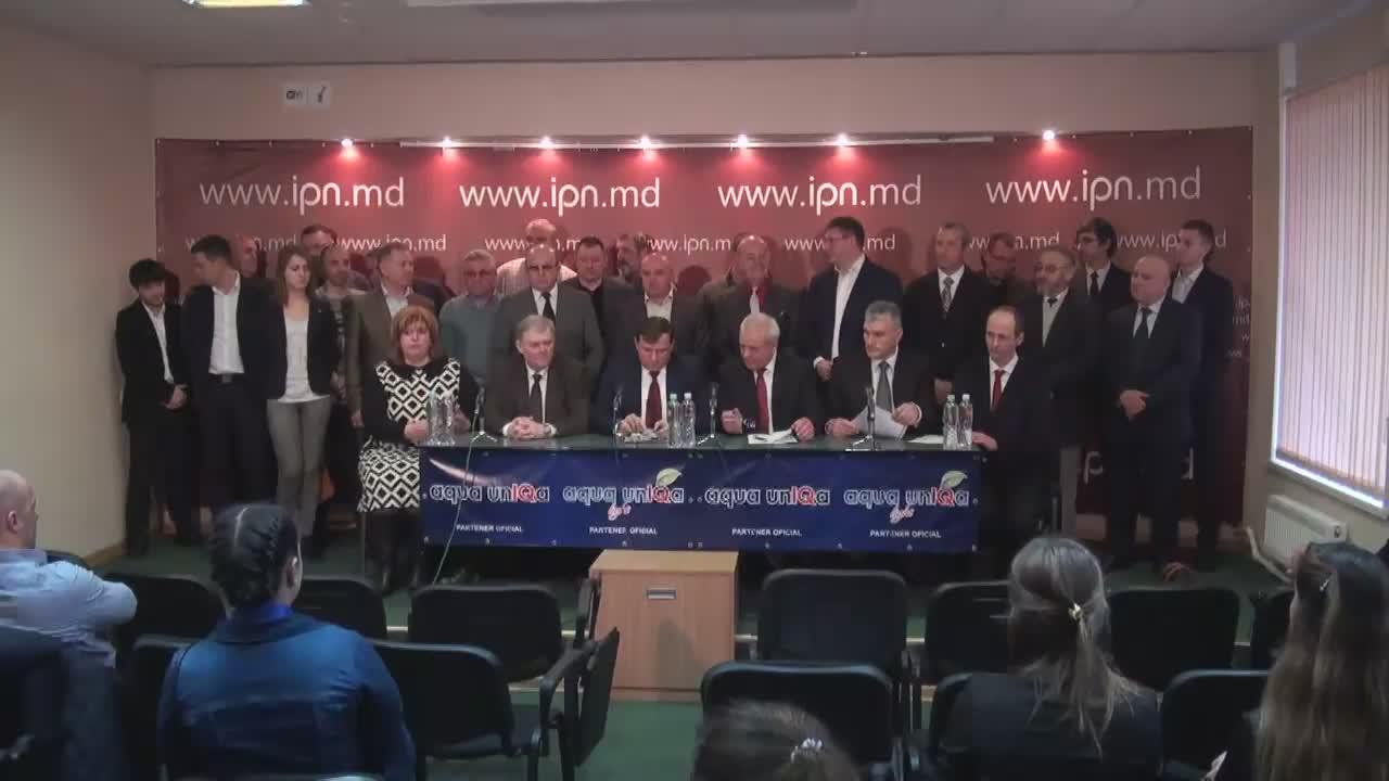 """Conferință de presă organizată de Partidul Politic """"Platforma Demnitate și Adevăr"""" privind prioritățile și inițiativele PPPDA"""