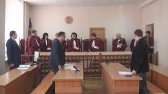Ședința Curții Supreme de Justiție privind numirea în funcție a Procurorului General, Eduard Harunjen
