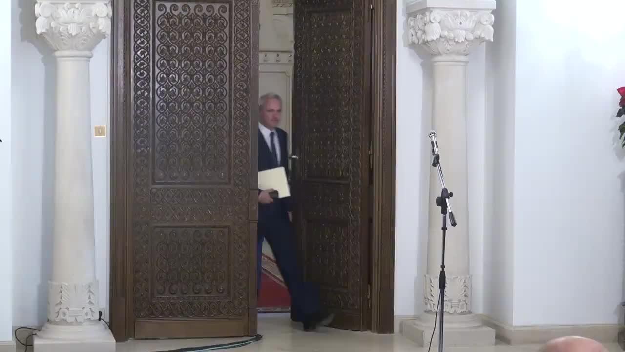 Declarații de presă susținute de reprezentanții PSD și ALDE, după consultările cu Președintele Klaus Iohannis