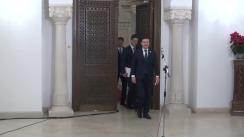 Declarații de presă susținute de reprezentanții USR, după consultările cu Președintele Klaus Iohannis