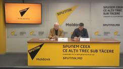 """Conferință de presă cu tema """"Aniversarea a 100 de ani de la proclamarea Republicii Moldovenești"""""""
