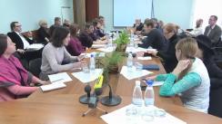 """Ședința de lucru în vederea identificării acțiunilor de revizuire a Strategiei de dezvoltare a societății civile pentru anii 2012-2015. Ședința subgrupului I """"Consolidarea cadrului de participare a societății civile la elaborarea și monitorizarea implementării politicilor publice"""""""