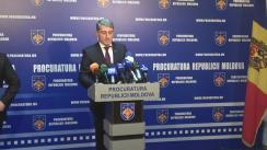 Conferință de presă privind schimbările care vor avea loc în activitatea Procuraturii municipiului Chișinău începând cu 1 ianuarie 2017, evoluția celor mai de rezonanță dosare instrumentate de această subdiviziune, dar și perspectivele pentru anul viitor