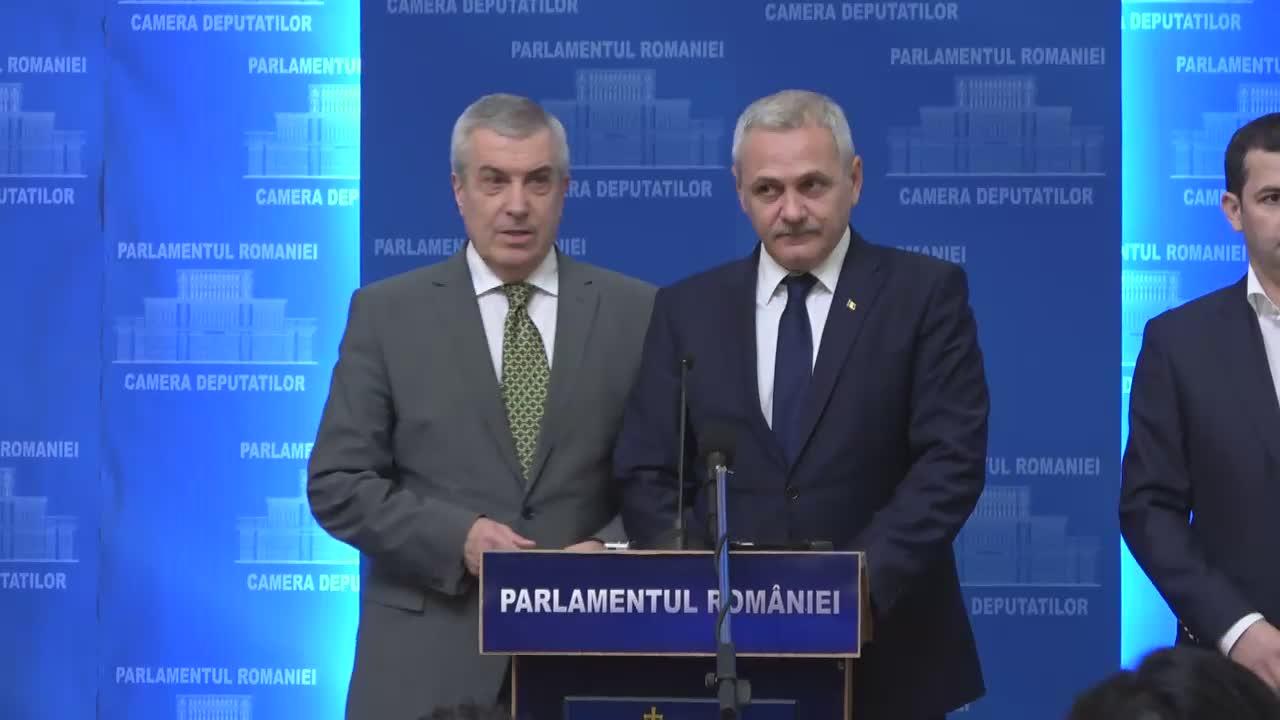 Declarații de presă susținute de Președintele PSD, Liviu Dragnea
