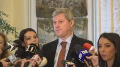 Declarații de presă susținute de vicepreședintele PNL, Cătălin Predoiu