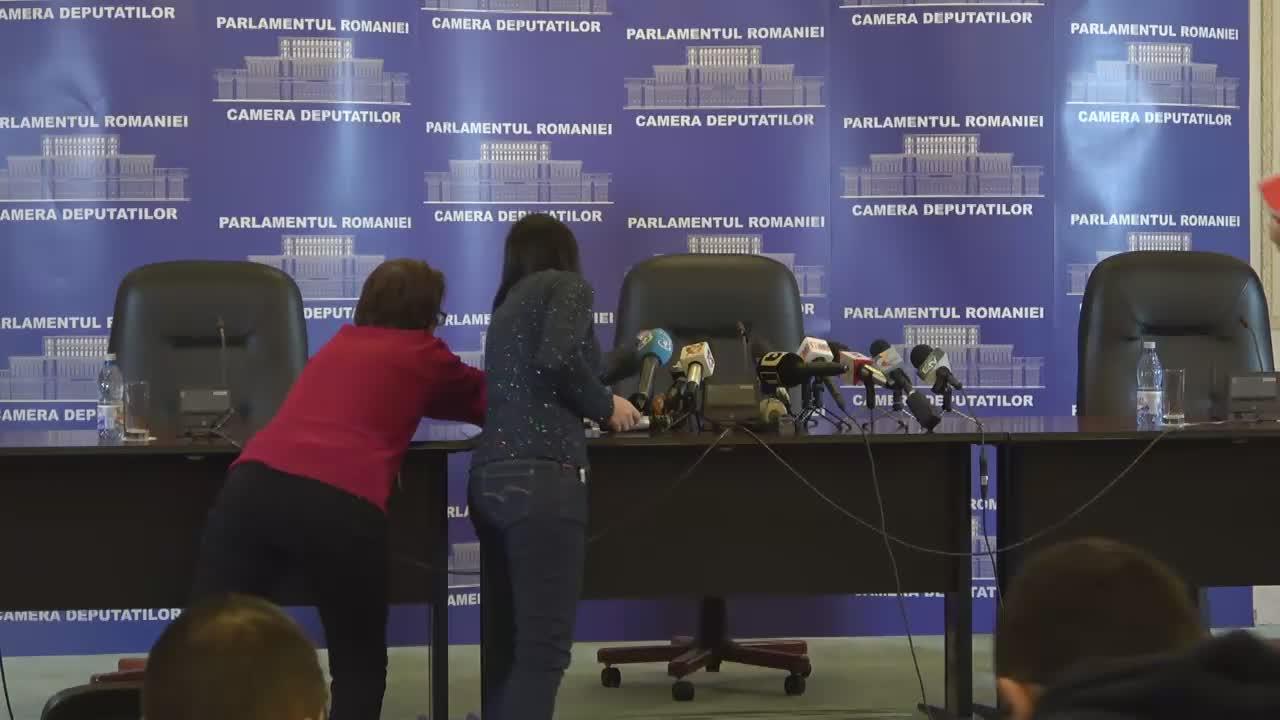 Declarații de presă susținute de președintele PSD, Liviu Dragnea, după desemnarea lui Sorin Grindeanu în calitate de candidat la funcția de prim-ministru