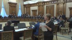 Audierea candidatului la funcția de ministru al Economiei, Alexandru Petrescu