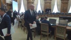 Audierea candidatului la funcția de ministru al Transporturilor, Răzvan Alexandru Cuc