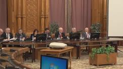 Audierea candidatului la funcția de ministru al Justiției, Florin Iordache