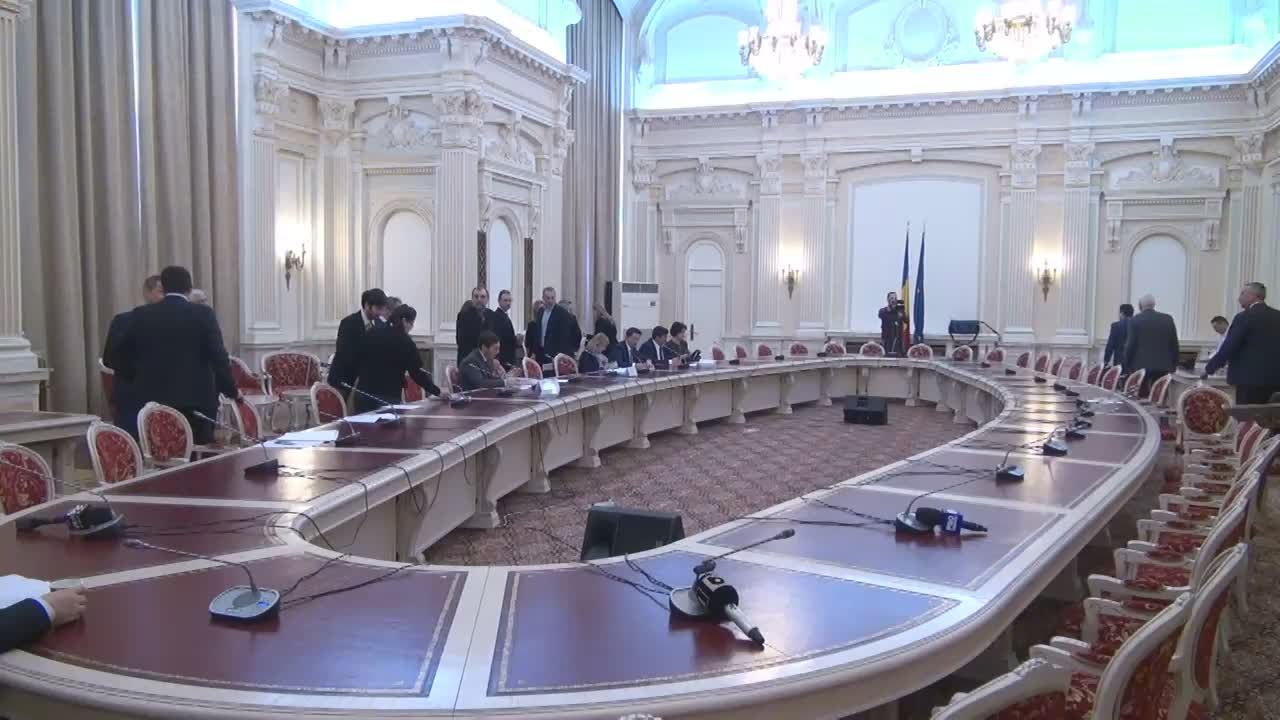 Audierea candidatului la funcția de ministru al Afacerilor Externe, Teodor Meleșcanu