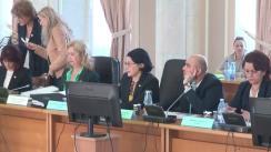 Audierea candidatului la funcția de ministru al Tineretului și Sportului, Marius Alexandru Dunca