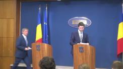 Conferință de presă susținută de prim-ministrul României, Dacian Cioloș