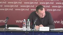 """Conferință de presă susținută de Grigore Petrenco cu tema """"Contestarea hotărârii CSP privind decorarea și premierea procurorilor de buzunar, precum și noi circumstanțe în dosarul numirii lui Harunjen în funcția de Procuror General"""""""