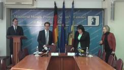 Conferință de presă privind semnarea Acordului dintre Republica Moldova și Republica Federală Germania în domeniul securității sociale