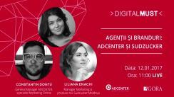 "DigitalMUST: Agenții și branduri ""ADCENTER și Sudzucker"""