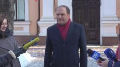 """Declarația lui Ion Ceban, purtătorul de cuvânt al președintelui Republicii Moldova, după flashmob-ul organizat de echipa de tineret a Partidului Acțiune și Solidaritate """"Tăieței pentru Dodon"""""""