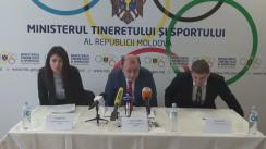 Conferință de presă organizată de Ministerul Tineretului și Sportului cu ocazia lansării Programului anual de Granturi