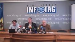"""Conferință de presă organizată de Asociația Sociologilor și Demografilor din Moldova cu tema """"Rezultatele studiului sociologic: Anul 2016 în opinia populației din Republica Moldova"""""""