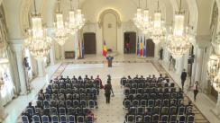 Întâlnirea anuală a Președintelui Klaus Iohannis cu șefii misiunilor diplomatice și ai reprezentanțelor organizațiilor internaționale în România
