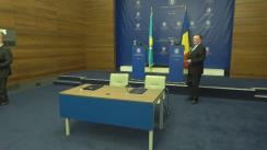 """Semnarea contractului de participare a României la expoziția internațională """"Expo Astana – 2017"""""""