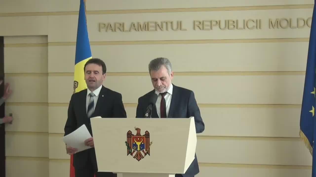Conferință de presă susținută de fracțiunea parlamentară a PLDM