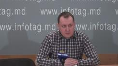 """Conferință de presă susținută de președintele Partidului """"Casa Noastră - Moldova"""" (BLOCUL ROȘU), Grigore Petrenco, cu tema """"Noua cerere de chemare în judecată în dosarul furtului din Banca de economii. Cui îi convine procesul de judecată cu ușile închise?"""""""