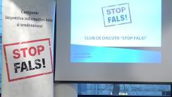 """Ședința Clubului de discuții """"STOP FALS!"""", cu genericul """"Falsurile informaționale: între încălcare și sancțiune"""""""
