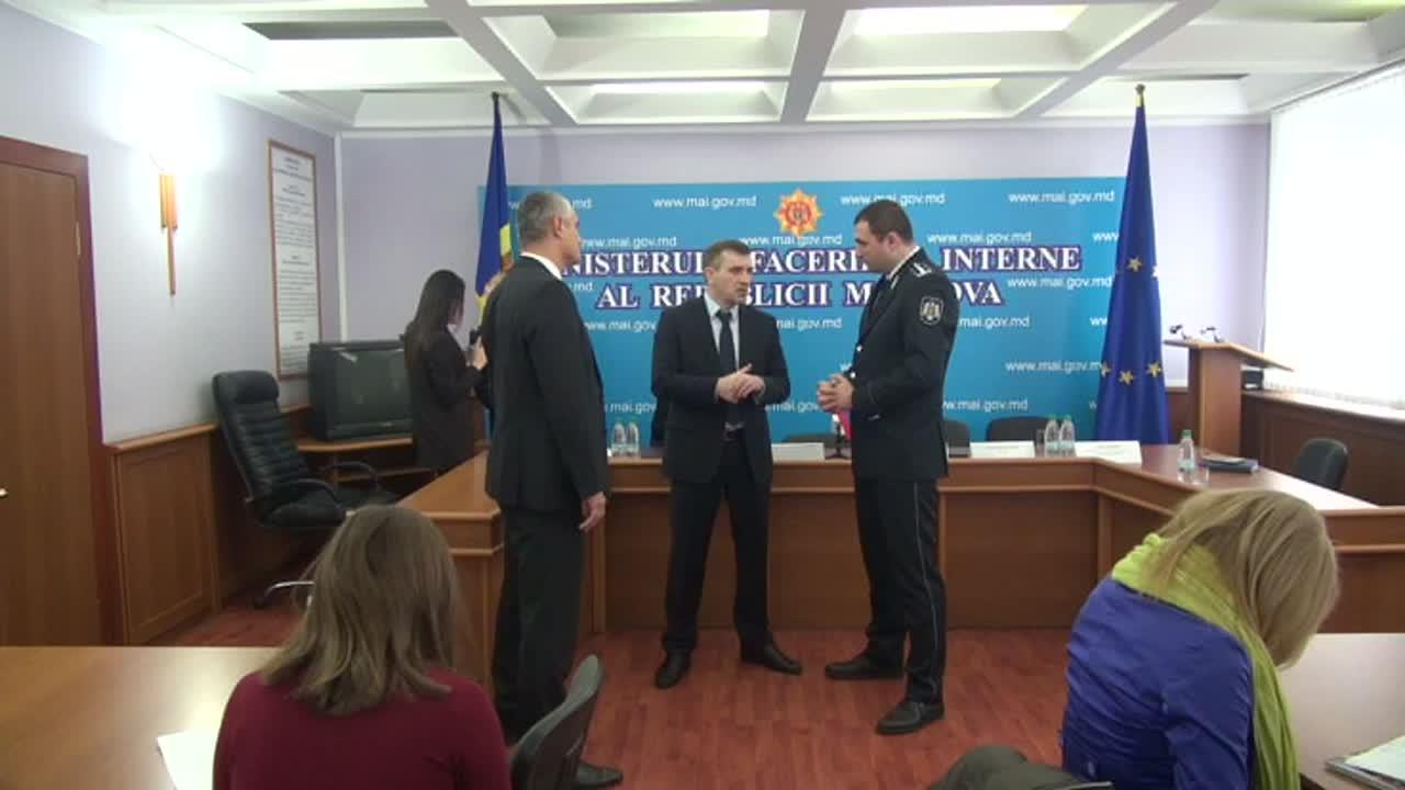 Conferință de presă de prezentare a rezultatelor operațiunii comune între organele de drept din Republica Moldova și Federația Rusă, soldată cu reținerea a 10 persoane