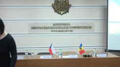 """Lansarea proiectului """"Implementarea Eurocodurilor în Republica Moldova și sporirea accesului la standarde"""" realizat de Ministerul Dezvoltării Regionale și Construcțiilor cu suportul Agenției Cehe de Dezvoltare"""