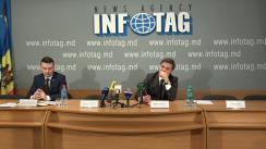 """Conferință de presă organizată de Centrul Analitic Independent Expert-Grup cu tema """"Rezultatele monitorizării reformelor recente în sectorul financial-bancar din Republica Moldova"""""""