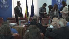 Prezentarea Ministrului Justiției, Florin Iordache, în cadrul dezbaterii referitoare la legea grațierii și amnistiei