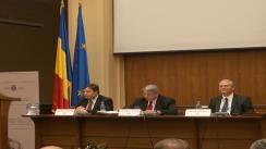 Conferință de presă susținută de șeful FMI în România, Jeffrey Franks, și directorul Comisiei Europene pentru România, István Szekély