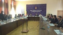 Ședința Consiliului de Asistență în cadrul Biroului Național de Statistică al Republicii Moldova