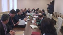 Ședința comisiei speciale pentru eficientizarea cadrului legislativ privind alimentația copiilor în instituțiile preșcolare și de învățământ