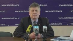 Briefing de presă după ședința Consiliului de Asistență în cadrul Biroului Național de Statistică al Republicii Moldova