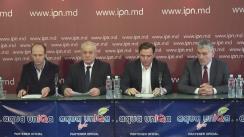 """Conferință de presă cu tema """"Cu privire la atacurile guvernării asupra Platformei Demnitate și Adevăr"""""""