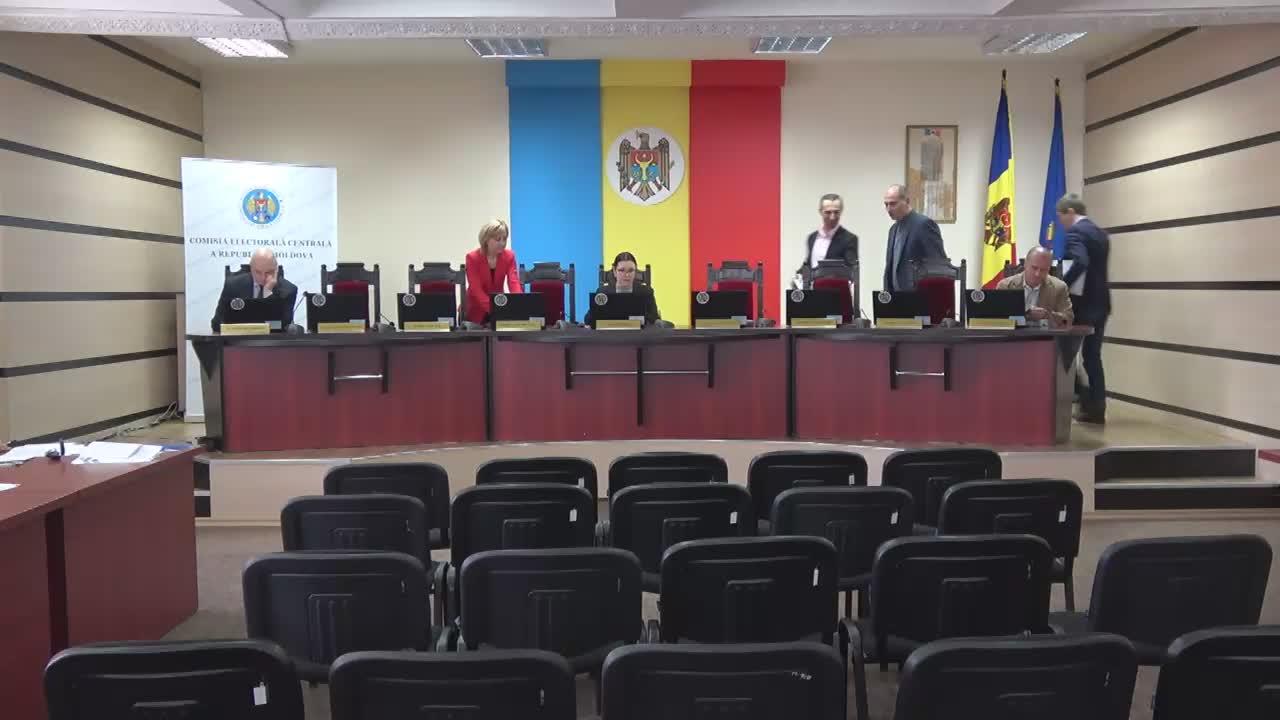 Ședința Comisiei Electorale Centrale din 31 ianuarie 2017