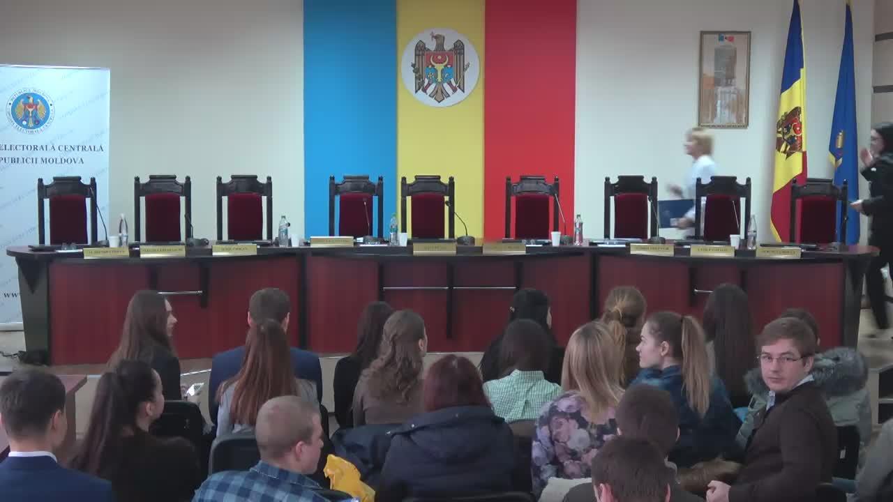 Briefing de presă organizat de Comisia Electorală Centrală cu ocazia Zilei Internaționale a Alegerilor
