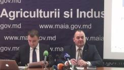 """Conferință de presă cu tema """"Rezultatele subvenționării pentru anul 2016 și prevederile Regulamentului de subvenționare pentru 2017"""""""