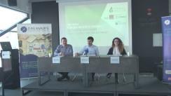 """Conferință de presă cu tema """"Founder Institute Chisinau 2017 - programul de accelerare internațional adus în Moldova din Silicon Valley pentru tinerii care vor să-și lanseze propria afacere globală"""""""