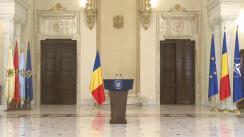 Declarația de presă a Președintelui României, Klaus Iohannis