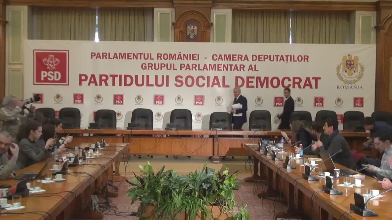 Conferință de presă susținută de Liviu Dragnea și Sorin Grindeanu după ședința Comitetului Executiv Național al PSD