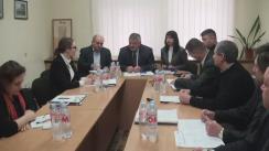 Ședință de lucru în problema administrării neautorizate a poligonului de depozitare a deșeurilor din preajma comunei Bubuieci